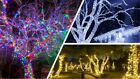 Jingles LED Christmas Lights In 3 Sizes and 3 Different Colours 200/400/600 LEDs