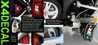 Brake Caliper Decal stickers fit Jaguar XKR-Supercharged  SET Green Red Black R