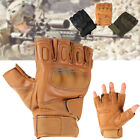 Unisex Military Tactical Half Finger Hunting Shooting Motorcycle Sports Gloves