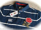 S M L XL ENGLAND RUGBY 1871 VINTAGE POLO SHIRT NAVY Canterbury New Zealand