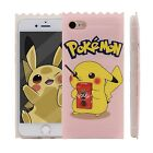 iPhone 7 & 7 Plus Cute 3D Candy Pokemon Go Pikachu Soft TPU Rubber Case Skin