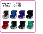 BRITAX ROMER KING II LS - GROUP 1 - 9-18 KG - NEW COLLECTION