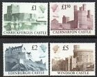 GREAT BRITAIN HIGH VALUE STAMPS/SETS,  MACHIN,  PARCEL,  CASTLES,  ALL EXCELLENT MNH