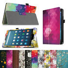 For All-New Amazon Fire HD 8 (6th Gen, 2016) Folio Leather Case Standing Cover