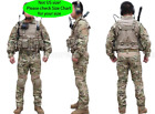 Tactical Emerson Hunting Men Gen2 G2 Combat Uniform Shirt &Pants Suit w Pads MC