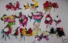 2PC Corsage Boutonniere Set Orchid Choice of Many Colors Wrist or Pin Corsage