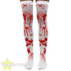 LADIES BLOOD STAINED BLOODY STOCKINGS HALLOWEEN FANCY DRESS ACCESSORY WOMENS