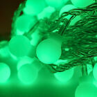 Battery Powered 20 LED String Light Frosted Ball Home Party Bar Decor EU Plug