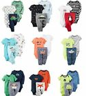 NEW NWT Boys Carter's 3 Piece Layette Outfit Newborn 3 6 9 12 Months Dino UFO