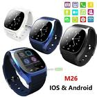 M26 Bluetooth Wrist Quick-witted Watch Phone Mate For iPhone Android IOS for Samsu BEST