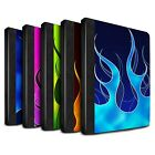 STUFF4 PU Leather Book Case/Cover for Apple iPad 2/3/4/Flame Paint Job