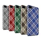 STUFF4 Gloss Phone Case for Apple iPhone 7 /Tartan Picnic Pattern