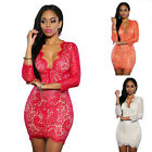 Women Lady Girl Sexy Lace Cute  Mini Dress Night Club Evening Party Solid Skirts
