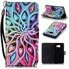 London envelope Leather Flip Stand Card slot Folio Wallet Case Cover for Phones