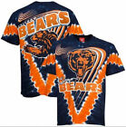 Chicago Bears V-Dye NFL T Shirt Size LG  TOTAL CLOSEOUT