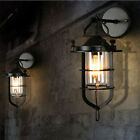 Vintage Retro Industrial Loft Rustic Wall Sconce Wall Lights Porch Lamp 2220