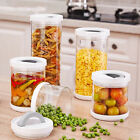Coffee Tea Sugar Jar Set Glass Airtight Containers Canisters Milk Powder Storage