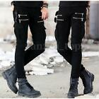 INCERUN Herren Freizeithose Trousers Zipper Hose Herbst Thermohose Chinohose