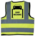 Baby/Chilren/Kids Hi Vis Safety Jacket/Vest Chief Mechanic Driver Size 0-8Years