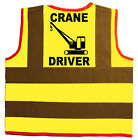 Baby/Chilren/Kids Hi Vis Safety Jacket/Vest Crane Driver Size 0-8Years