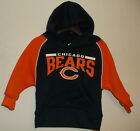 NFL Team Apparel Chicago Bears Hoodie Sweatshirt Choice 2T 3T 4T 12 18 Month NWT