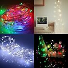 20 LED String Copper Wire Fairy Lights Battery Christmas Wedding Party Festival