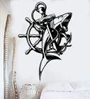 Home Decorating Shows On Cable Vinyl Wall Decal Anchor Shark Nautical Marine Sea Decor Stickers (381ig) Sewing Home Decorating