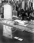 1953 Aerial Photograph United Nations Building New York Historical Vintage