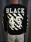 "Hudson Outerwear NYC ""BLACK 45"" Men's Long Sleeve Fitted Shirt $70 NEW"