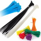 STRONG QUALITY NYLON CABLE TIES ZIP WRAPS - ALL SIZES Small/Large Short/Long UK
