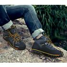 Mens Comfort Sneakers High Top Trainers Hiking Ankle Boots Lace Up Sports Shoes