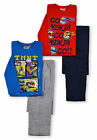 Boys Teenage Mutant Ninja Turtles Pyjamas New Kids TMNT PJ Set Red Blue 3-8 Yrs