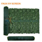 decorative privacy screen - Artificial Ivy Green Leaf Privacy Fence Gate Screen Panels Wall Cover Decoration