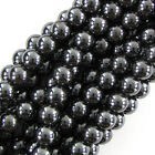 Natural Hematite Round Beads Gemstone 16 Strand 2mm 3mm 4mm 6mm 8mm 10mm 12mm
