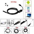 1M 2M 5M 7mm Android Endoscope Waterproof Snake Borescope USB Inspection Camera