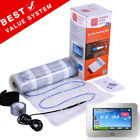 **Premium UltraSafe**  Electric Underfloor Heating 150W MAT KIT - 2mm Thin Cable