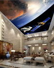 3D Space Craft Astronaut Outerspace Wallpaper Ceiling Decals Wall Art Print