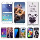 Patterned Rubber Soft Silicon Fashion TPU Protective Case Cover For Samsung Sony