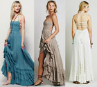 Women Vintage See Back Evening Cocktail Party Prom Gown Maxi Long Dress Hot Gift