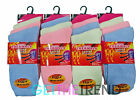12 Pairs Womens Thermal Socks Ladies Sleeping Thick Winter Warm Multipack 4-6.5