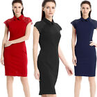 Womens Elegant lace office ladies work Cocktail party evening dress wear clothes