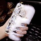 Fox Soft Warm Rabbit Fur Furry Case Cover For Apple iPhone 7/7 Plus Covers newco