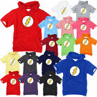 Superhero DC Comics The Flash Light Cotton Hooded shirts Hoodie Hoody Top tee AA