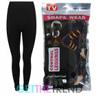 Womens Control Leggings Ladies Shapewear Full Length Thick Thermal Tummy Shapers