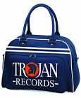 Trojan Records Bowling Style Bag Regge Ska Rock Steady Dance Hall Rude Boy TEXT