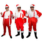 MENS NAUGHTY SANTA COSTUME BAD SLEAZY FATHER CHRISTMAS FANCY DRESS FUNNY LOT