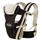 NEW ERGONOMIC STRONG BREATHABLE ADJUSTABLE INFANT NEWBORN BABY CARRIER BACKPACK <br/> RETAIL GIFT BOX*UK SAFETY STANDARDS*KHAKI BACK IN STOCK