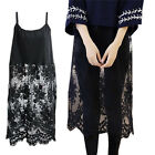 NEW Winter Midi Bottom Dress Floral Lace Braces Fashion Womens Ladies Girls