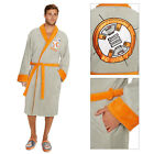 Official Disney Star Wars Adults BB-8 Droid Robot Luxury Bathrobe Dressing Gown