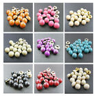 40 x ROUND COLOURED DOME 11mm BUTTONS *10 COLOURS* SEWING HABERDASHERY CARDIGANS